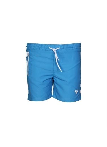 Hummel Delta Yüzme Şortu Mavi